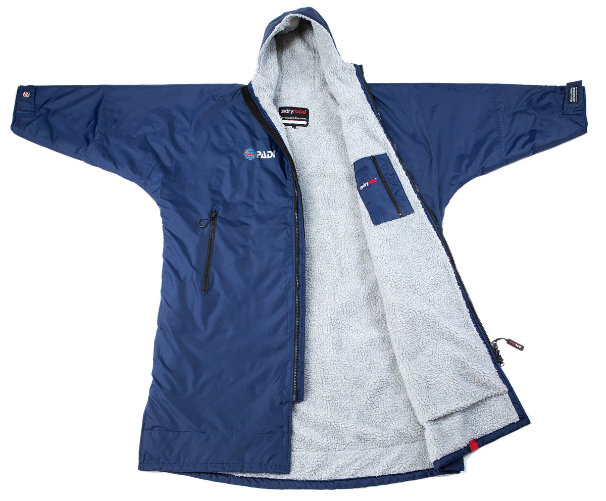 1|M,L, dryrobe Advance Long Sleeve PADI Open View