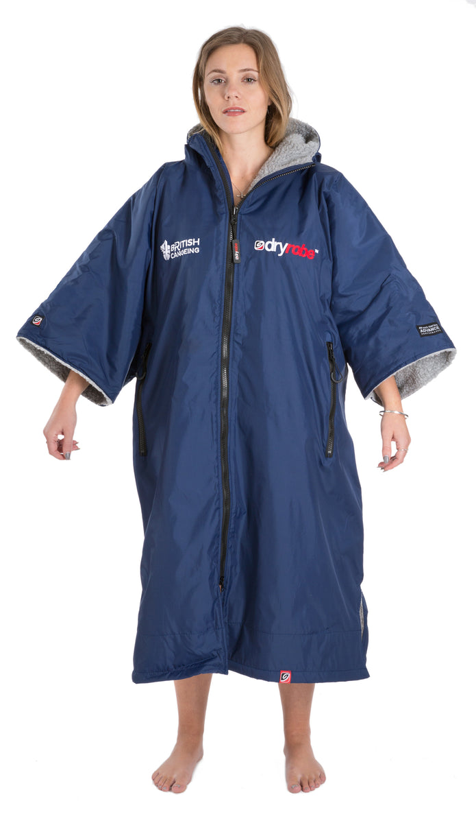 1|M, dryrobe Advance Short Sleeve Medium British Canoeing Female Model