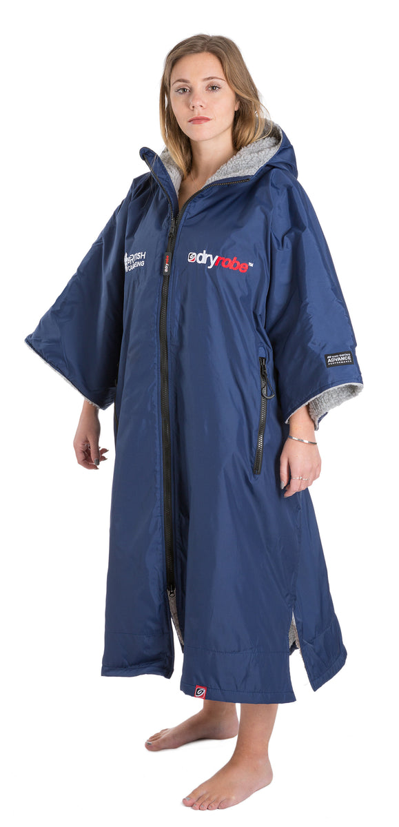 M, dryrobe Advance Short Sleeve Medium British Canoeing Female Model Side