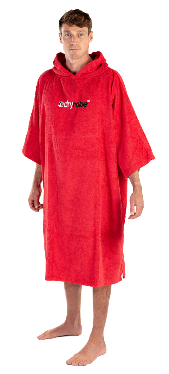 1|L, Adult organic towelling robe change robe male side view