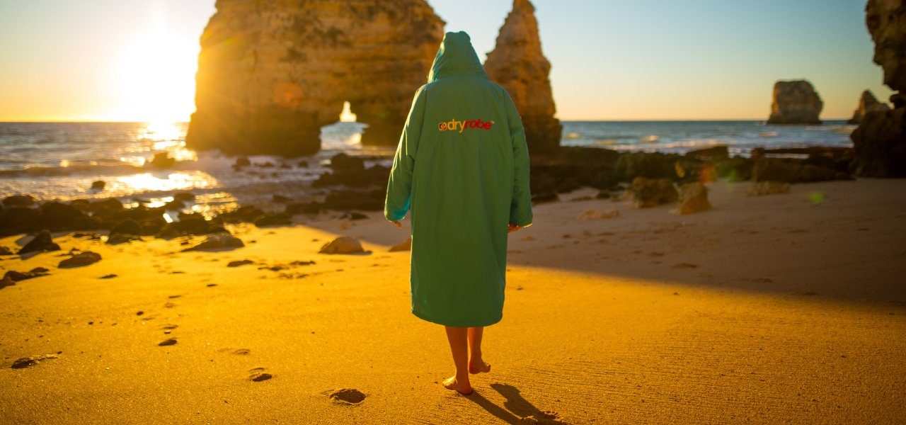 Open water swim - dryrobe
