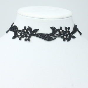 Flower Trio Choker Collar - Yatys Boutique
