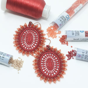 Lace Earrings - Yatys Boutique