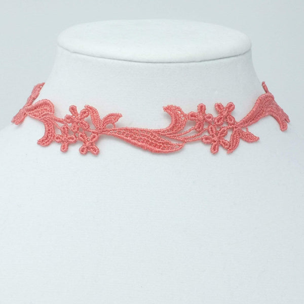 Lace Statement Necklace - Yatys Boutique