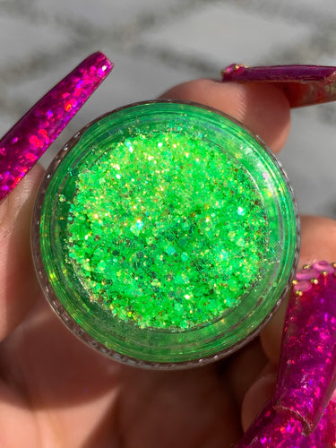 Shreq Is Luv Glitter Gel by Biqtch Puddin' - slayfirecosmetics