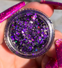 Load image into Gallery viewer, Cryptfairy Beach Goth Glitter Gel - slayfirecosmetics