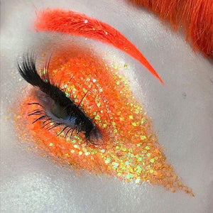 Citrus Glitter Gel - slayfirecosmetics