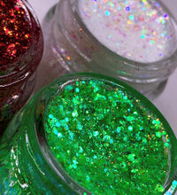 Load image into Gallery viewer, Shreq Is Luv Glitter Gel by Biqtch Puddin' - slayfirecosmetics
