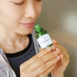 hinoki LAB Born in Shinjo Village OKAYAMA Hinoki Oils Leaf 30ml - hinoki LAB