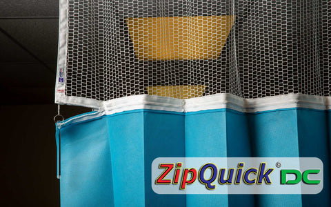 ZipQuick Disposable Hospital Curtain | ZipQuick Curtains Dallas TX