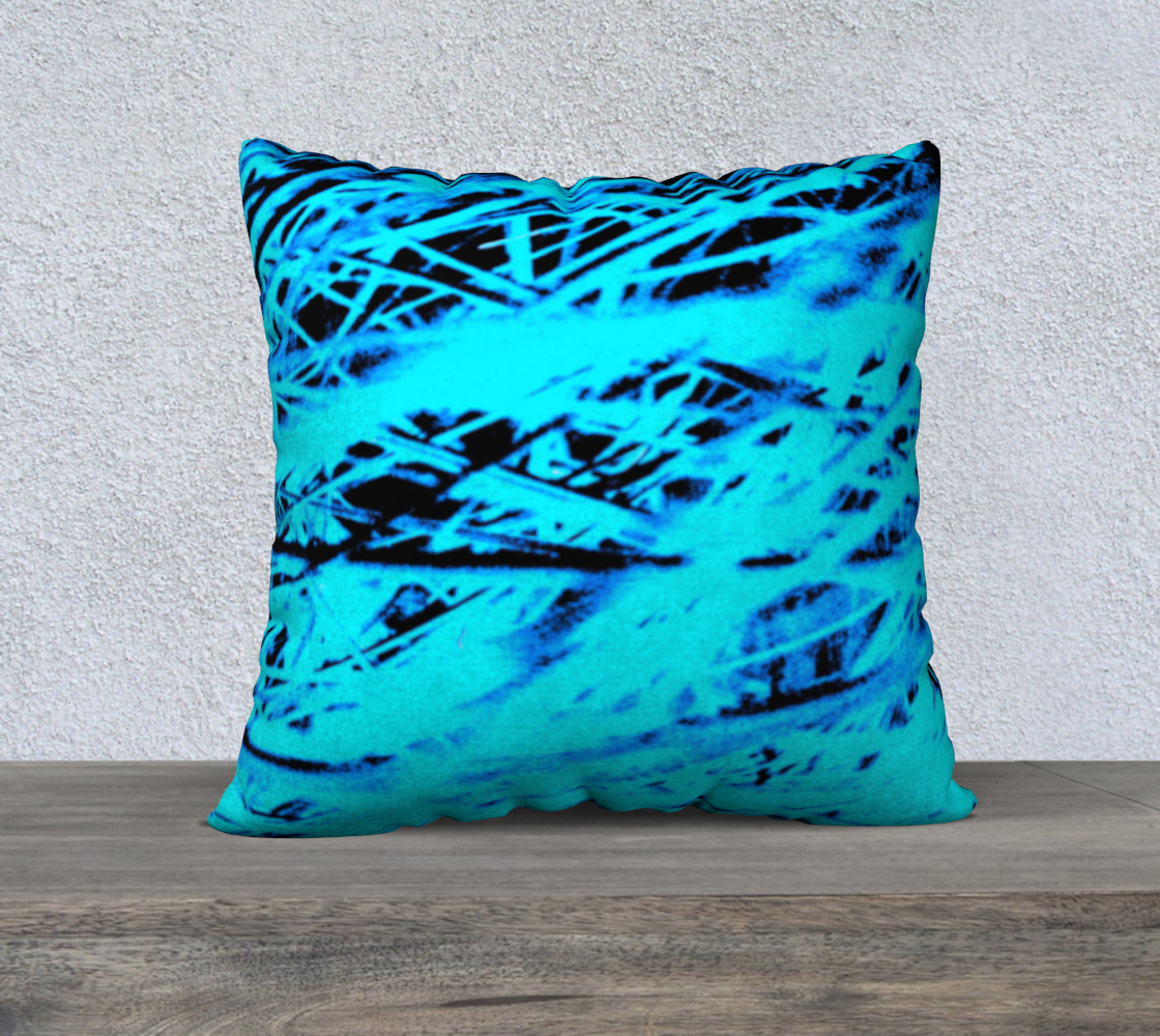 Blue Grass Pillow Case