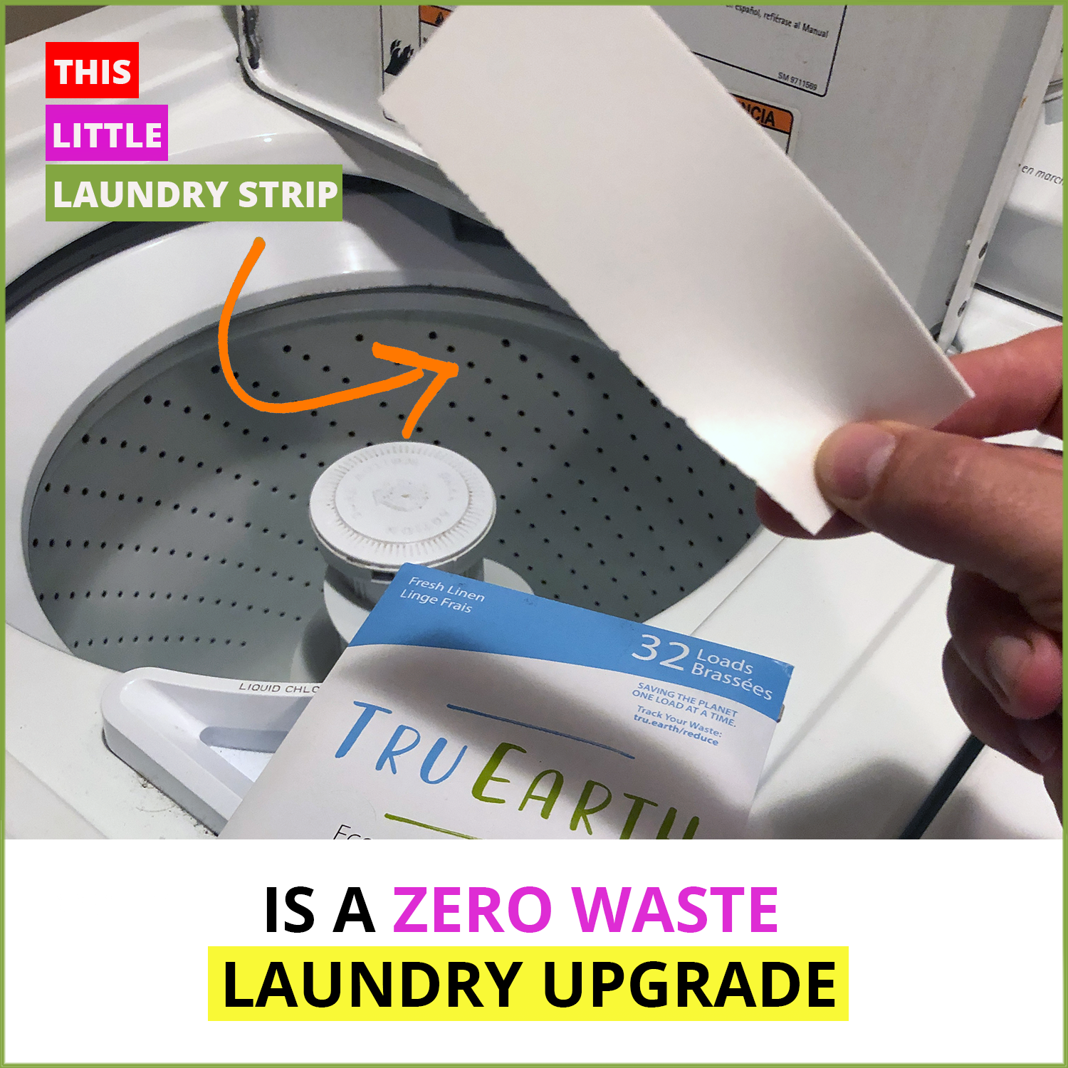 TRU EARTH - Laundry Detergent Eco Strips