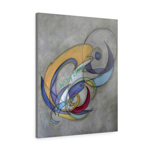 Open image in slideshow, PAINTING Giclee Reproduction  Canvas Gallery Wraps - Art by Zana