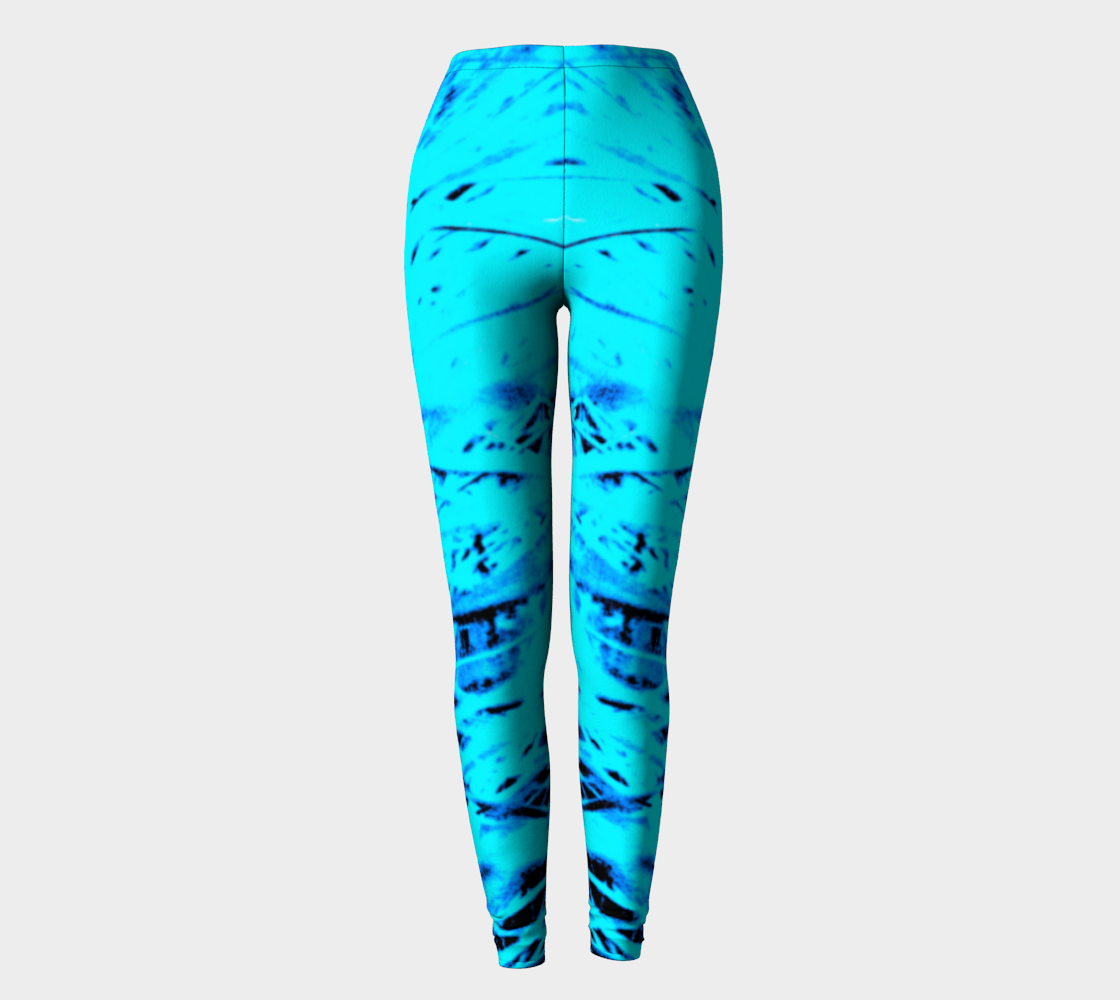Blue Grass Yoga Leggings