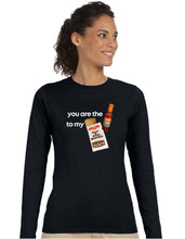 Load image into Gallery viewer, Ladies Burrito Long Sleeve T-shirt - Hot Sauce