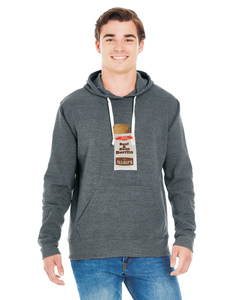 Mens Burrito Soft Ink Pull Over Hoodie