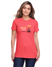 Load image into Gallery viewer, Ladies Burrito T-shirt - True Love