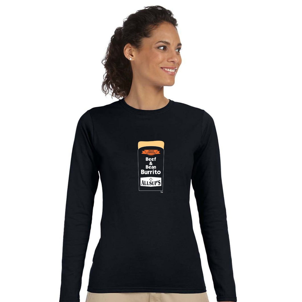 Allsups Ladies Crew Neck Long Sleeve