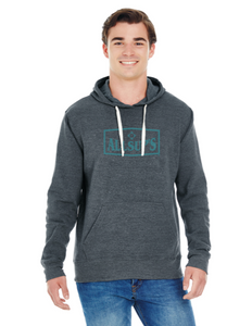 Allsups Mens Pull Over Hoodie Grey