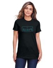 Load image into Gallery viewer, Allsups Ladies Soft Ink Logo T-shirt