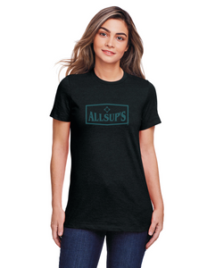 Allsups Ladies Soft Ink Logo T-shirt