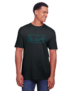 Mens Crew Neck T-shirt with Soft Ink Logo