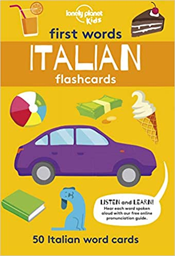 First Words - Italian (Lonely Planet Kids) Cards