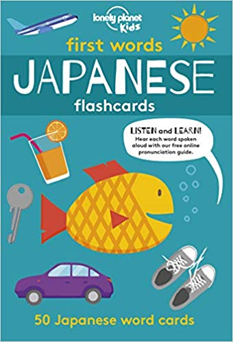 First Words: Japanese Flashcards Cards