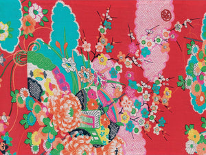 Japanese Kimono Gift Wrapping Papers: