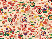 Load image into Gallery viewer, Japanese Kimono Gift Wrapping Papers: