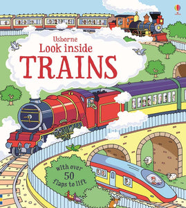 Look Inside Trains (Lift-the-Flap)