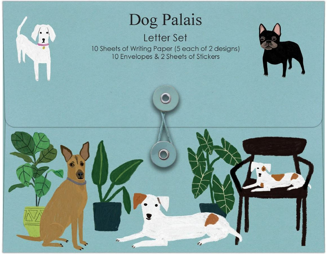 Dog Palais Letter Writing Set