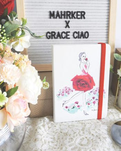 GRACE CIAO – DOTTED NOTEBOOKS – ROSE
