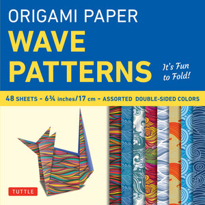 Origami Paper: Wave Patterns
