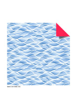 Load image into Gallery viewer, Origami Paper: Wave Patterns