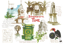 Load image into Gallery viewer, Singapore Sketches of a Lion City