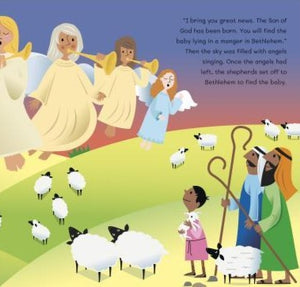 The Christmas Story: My First Nativity Book