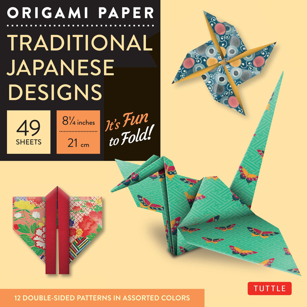 Origami Paper: Traditional Japanese Designs