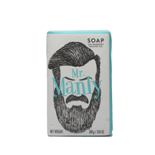 Load image into Gallery viewer, Mr Manly Sage Soap Bar 200g, Soap, The Somerset Toiletry Co.