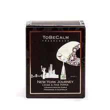Load image into Gallery viewer, New York Journey - Cedar & Pink Pepper - Medium Soy Candle