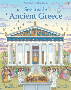 See Inside Ancient Greece: An Usborne Flap Book, Children Books, Usborne