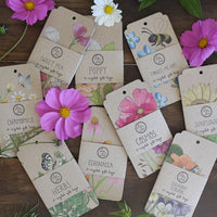 Culinary Flowers Gift Tags