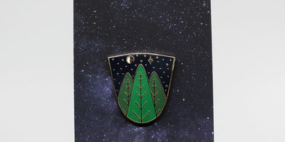 Starry Night Pin