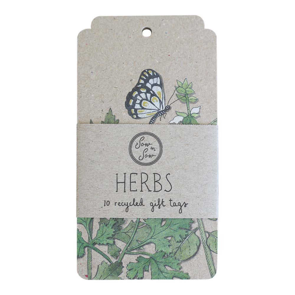 Trio of Herbs Gift Tags
