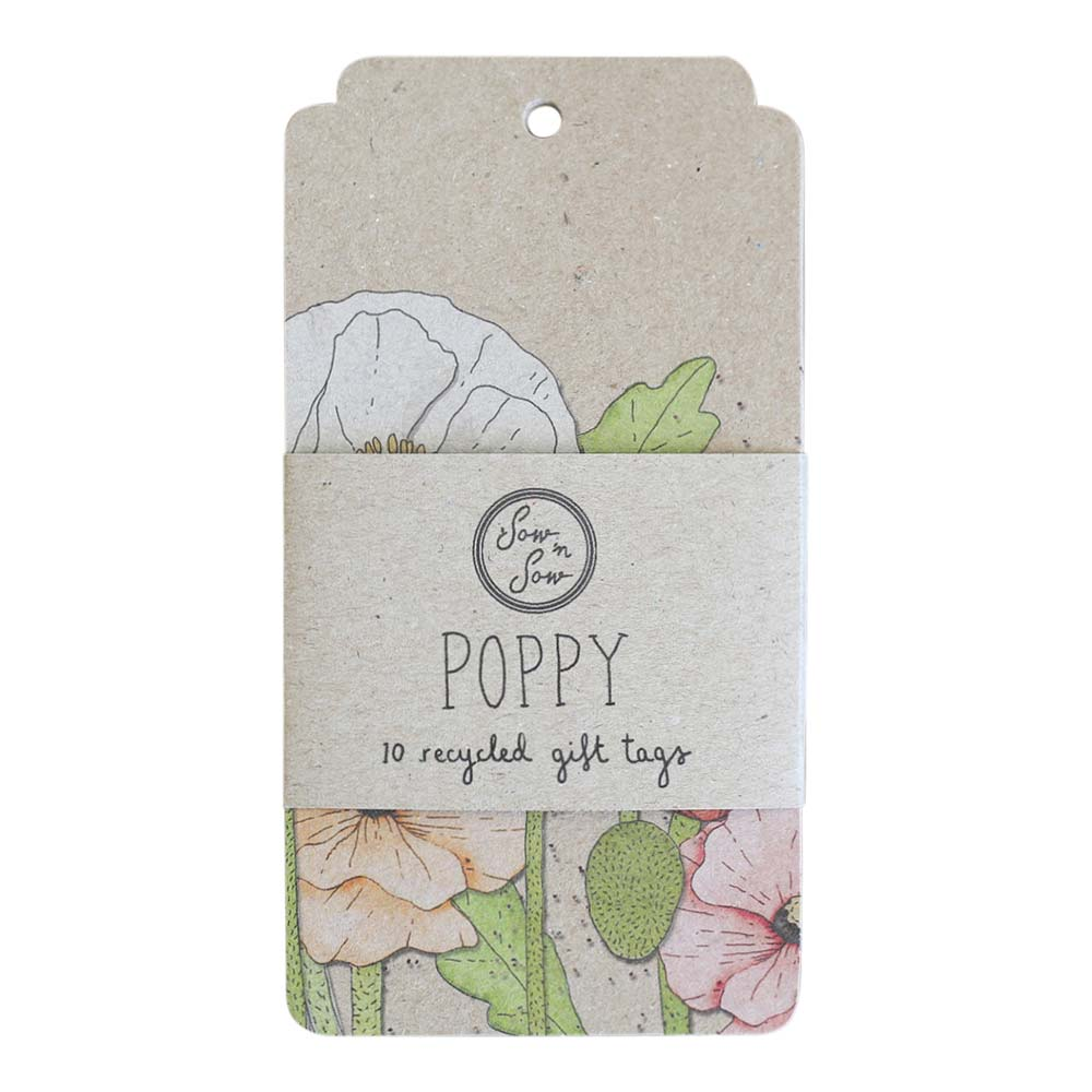 Poppy Gift Tags
