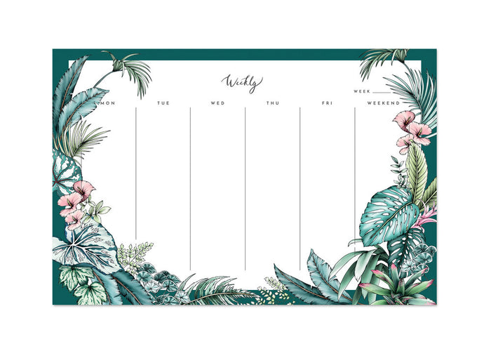 Tropical Paradise Weekly Planner