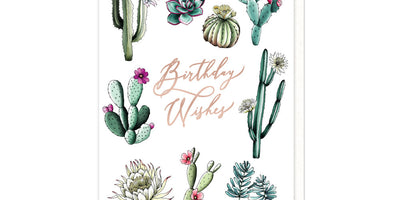 Cactus Birthday Wishes