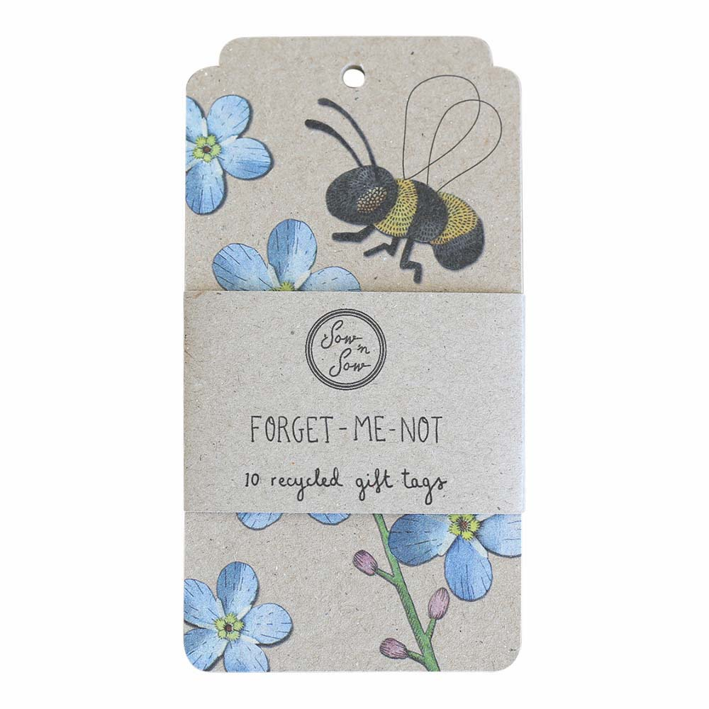 Forget Me Not Gift Tag