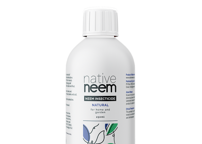 Native Neem Organic Neem Oil Insecticide 250ml