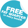 Free Fat Quarter In Every Bundle